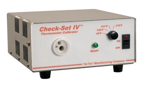 Tel-Tru CS4-F80-310 Check-Set Iv Thermometer Calibrator,40-150-161-175 Degree Fahrenheit, 3 Hole 0.125