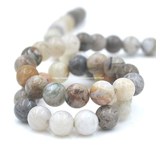 Calvas New Stone Bamboo Onyx Beads for Jewelry Making Loose Beads DIY Bracelet Necklace Material 15