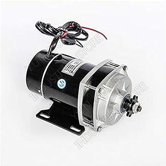 Fevas 500W 36V High Speed Brush DC Motor con reductor 6:1 para motor eléctrico de bicicleta: Amazon.es: Amazon.es
