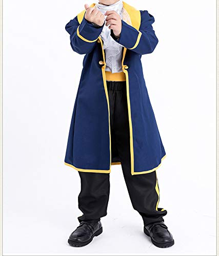 Ablaze Jin Halloween Children Costume Halloween Costumes Kid Child Boys cCarnival Prince Adam Fancy,Kids,M,ccostume -