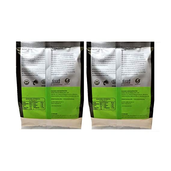 Ancient WIsdom Organic Quinoa Flour 1 KG ( 500GMS X 2 Packs)