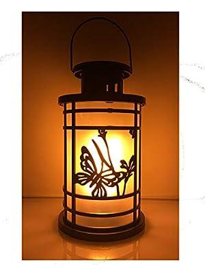 PeterP Flickering Flame LED Light Dancing Flame Lantern Landscape Decoration Lighting Indoor Outdoor Portable Lamp Hanging Lamp