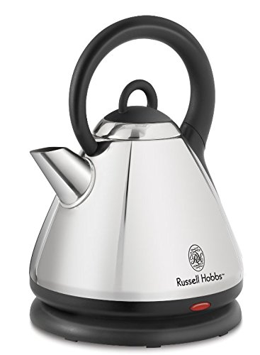 Russell Hobbs KE9001SC 1.8-Liter Dome Style Auto-Off 360-Degree Cordless Electric Kettle, Silver