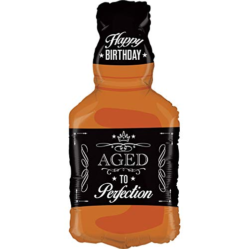 Betallic Foil Balloon 35284P Aged To Perfection - Whiskey, 34