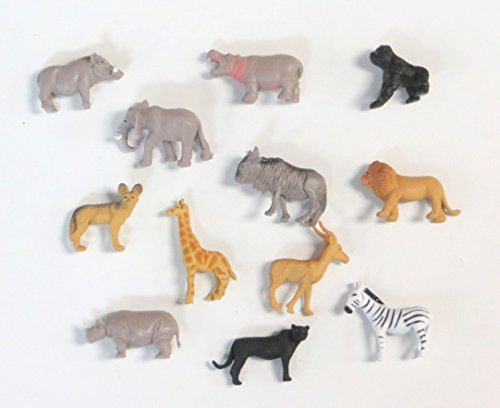 Pocket Safari Figures 24 Per Order (Savanna Animals)
