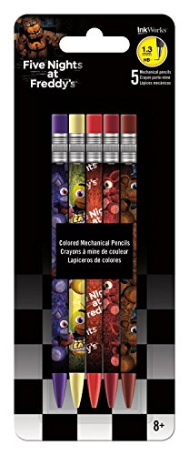 Five Nights at Freddy's Mechanical Pencils 5-Pack