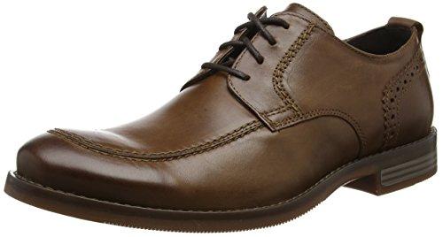 Rockport Herren Wynstin Apron Toe Brown Oxfords Braun (Brown)