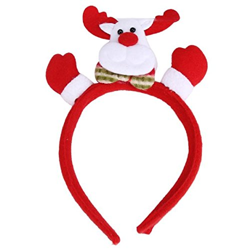 TOPUNDER Christmas Hair Accessory Decoration Home Party Head Hoop (8662)