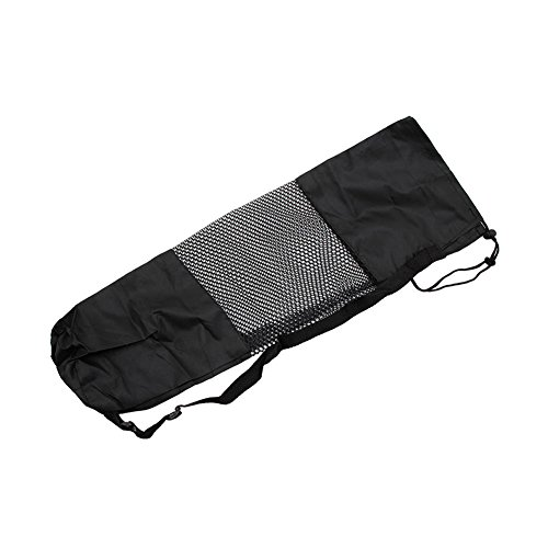 Tangc Portable Adjustable Strap Nylon Yoga Pilates Mat Carrier Bag Mesh Center Case