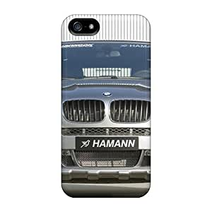 Durable Protector Case Cover With Bmw Hamann X5 E70 Front Hot Design For Iphone 5/5s