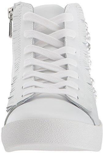 Steve Madden Womens Bayside Sneaker White Leather yieyb0bMVg