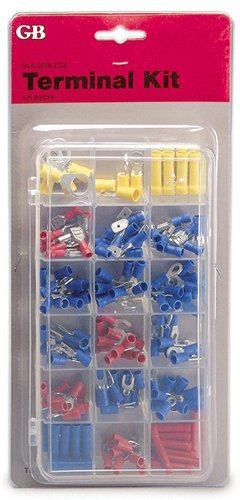 Solderless Terminal- Terminal Kit 175Pc From GB Gardner Bender (Part Number TK-175)