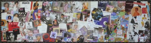 Prince - Album Covers Retrospective - Rare Advertising Poster 29x8