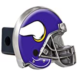 Great American Products NFL Minnesota Vikings Metal Helmet Trailer Hitch Cover