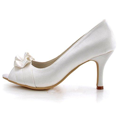 Minitoo , Damen Pumps Ivory-7.5cm Heel