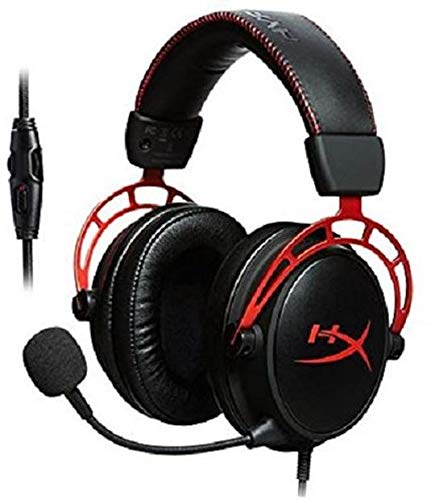 Renewed  HyperX Cloud Alpha Pro Gaming Headset for PC, PS4   Xbox One, Nintendo Switch  HX HSCA RD/AS