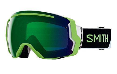 Smith Optics Adult I/O 7 Snowmobile Goggles Reactor Split / ChromaPop Everyday Green Mirror by Smith Optics