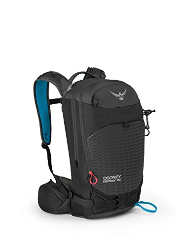 (Osprey Packs Men's Kamber 22 Ski Pack, Galactic Black, Medium/Large)