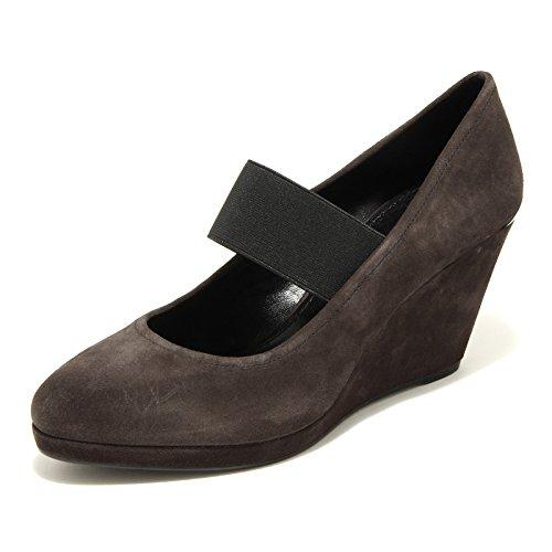 donna decollete 68271 PRADA women SPORT zeppa scarpa ANTRACITE shoes fZqXwqp4x