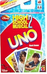 High School Musical 2 UNO Card Game