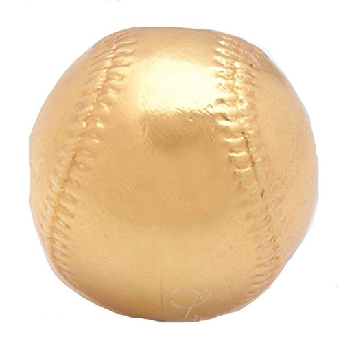 Roxx Fine Jewelry™ PLATINUM BASEBALL Real Baseball dipped in Platinum includes clear display case by Roxx Fine Jewelry (Image #1)