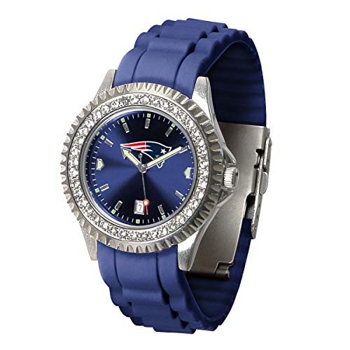 - Game Time NFL New England Patriots Womens SparkleWrist Watch, Team Color, One Size