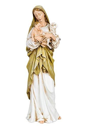 12 Inch Madonna and Child W/lamb Figurine By Josephs Studio 40735 -