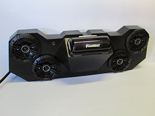 SD 4BBT4B -Polaris RZR Stereo System Bluetooth UTV Side by Side