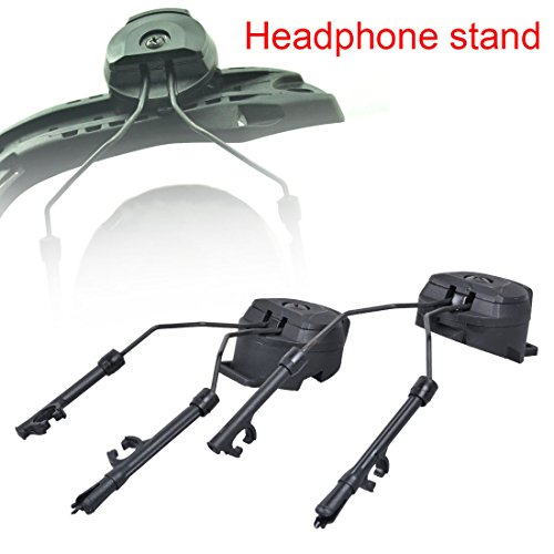 Sinuote® Peltor Comtac I/II ARC Adapter/Tactical Helmet Rail Suspension Headset (Guide Rail Adaptor)