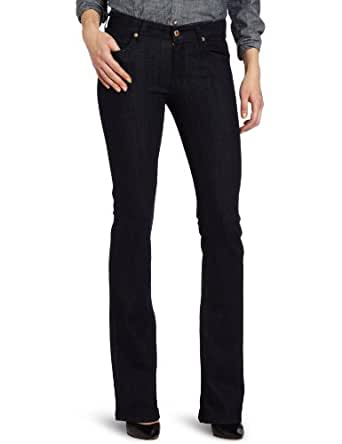 7 For All Mankind Women's Kimmie Bootcut Jean In Slim Illusion Rinse, Slim Illusion Rinse, 25
