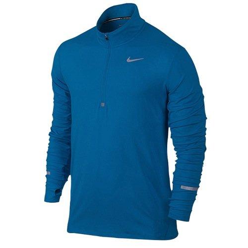 Nike Men's Dri-Fit Element Half Zip - Medium - Imperial Blue