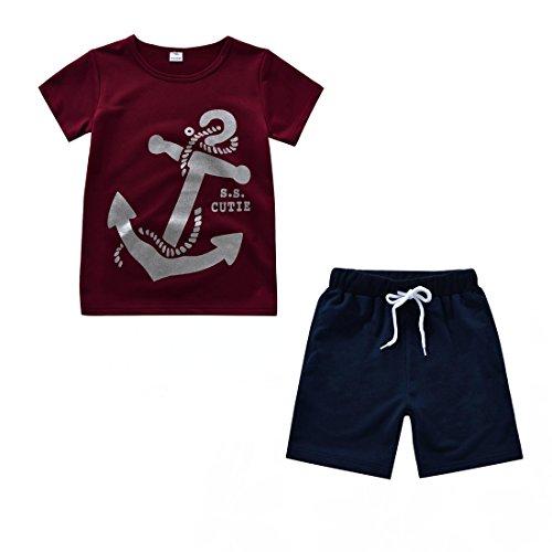 Shorts Clothes Pieces Shirt Anchor