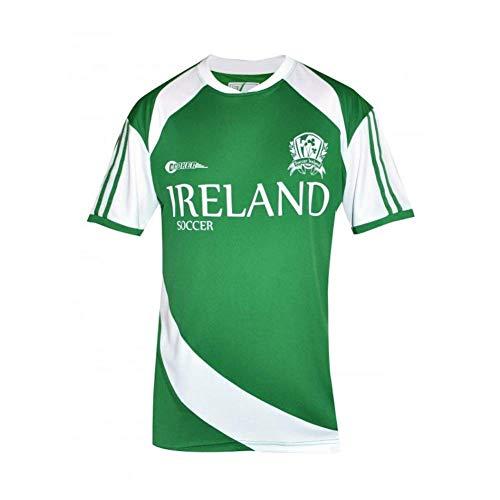 Print Rugby T-shirt Screen - Croker Ireland Soccer Shirt, Green, XXXL