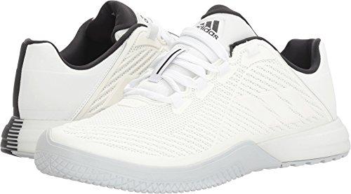 adidas Performance Men's Crazypower TR M Cross-Trainer Shoe, White/White/Black, 11 M US