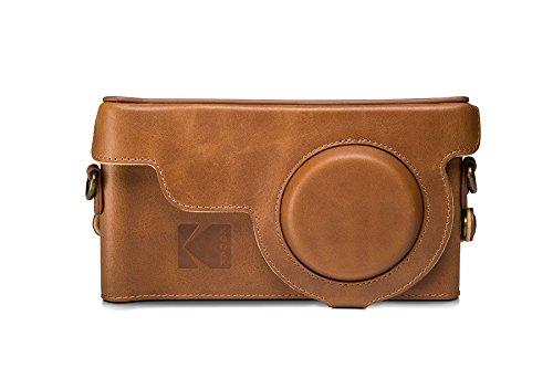 genuine-official-kodak-camera-leather-case-cover-for-kodak-ektra-smartphone-brown-yellow
