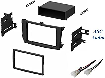 2009 2010 2011 2012 Toyota Corolla Dash Kit Double Din Stereo Install