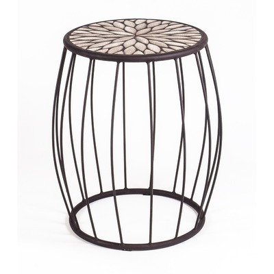 Mosaic Speckled Hen Cage Side Table (Colorado Picnic Tables Furniture Outdoor)