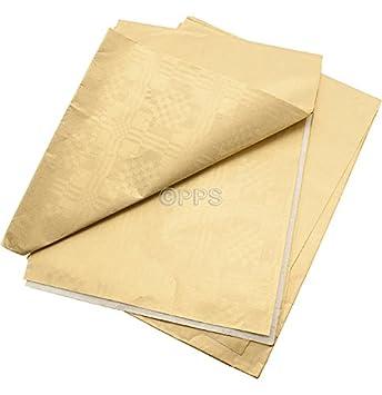 2 unidades dorado de papel fundas para palos de golf - 90 cm ...