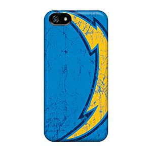 Iphone 5/5s Uhw15580pMce Unique Design Attractive San Diego Chargers Pattern Protective Cell-phone Hard Cover -DannyLCHEUNG