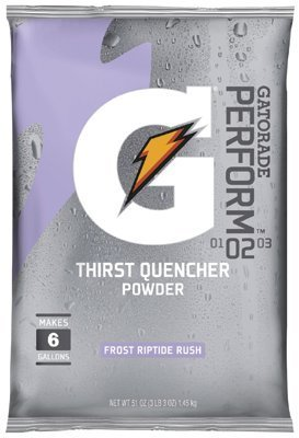 Gatorade 6Gal. Riptide Rush Powder Mix 14-51Oz. Pkgs - 14 Each by Gatorade