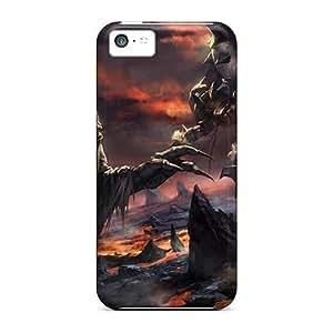 For ipod touch4 (garrosh Hellscream Wow) Unique Pretty Cases Covers case miao's Customization case