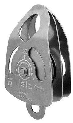 ISC RP064 ミディアム ステンレススチール ダブルプルシック (最大13mmロープ)