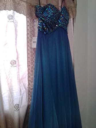 Amazon Com Red Prom Dress Brides Maid Blondie Nites By