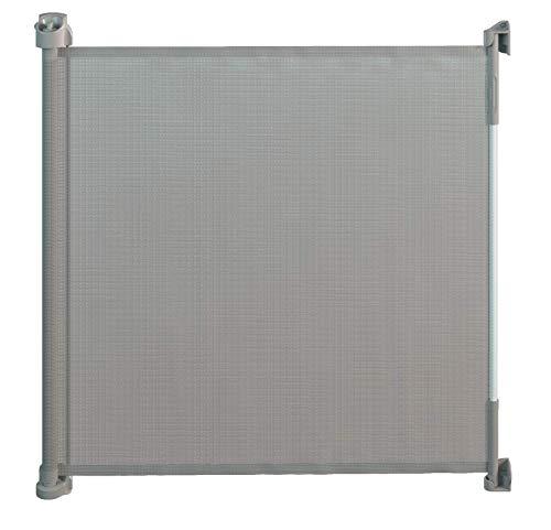 Gaterol Active Lite Gray - Retractable Safety Gate - Super Safe 36.6