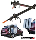 Pride Mobility Outlander DE Double Entry Scooter Lift (Swing Away Adaptor Included - Class III Hitch Receiver)
