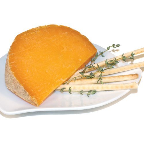 French Cheese Mimolette Vieille, 12 Months - 6.6 Lbs by Isigny (Image #1)