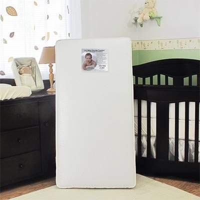 the latest d381d 4ff85 Amazon.com : L.a. Baby Double Comfort 2-in-1 Orthopedic Crib ...