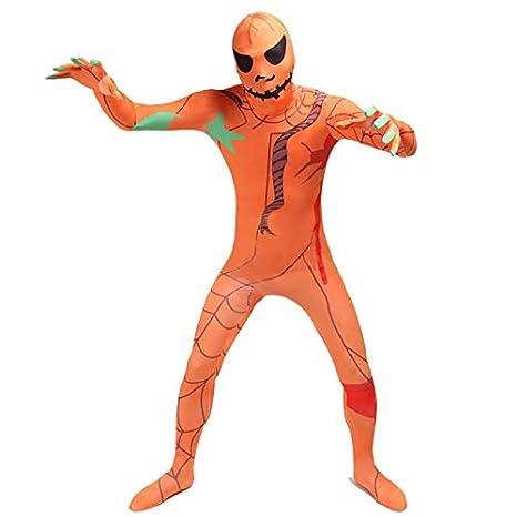 FYBR - Disfraz de Calabaza para Halloween - Adulto Unisex ...