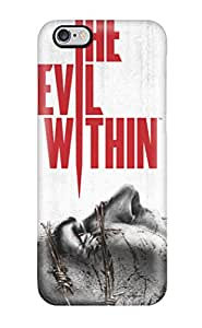New Style 6612328K19933735 Hot The Evil Within Game First Grade Tpu Phone Case For Iphone 6 Plus Case Cover