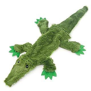2-in-1 Fun Skin Stuffless Dog Squeaky Toy by Best Pet Supplies - Zebra, Medium